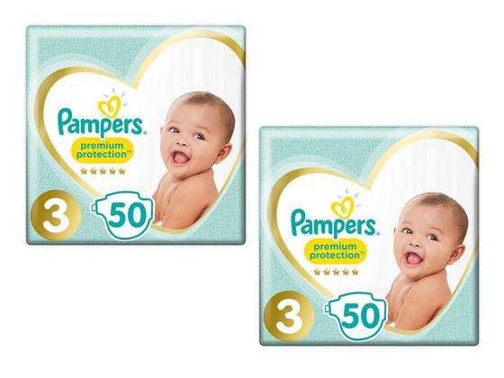 Pampers Premium | Maat 3 | 100 stuks