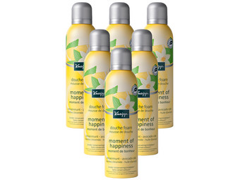 6x Kneipp Moment of Happiness Duschsch.