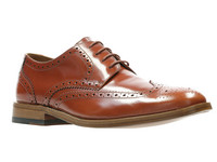 Clarks James Wing Herrenschuhe | 43