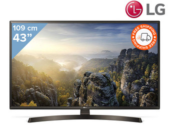 "Smart TV LG 43"" 4K Ultra HD"