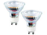2x LED's Light GU10 Spotje | 4,5 W