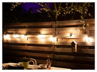 Outdoor LED-Lichterkette  5 m | 10 x LED in Warmwe