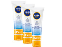 3x krem Nivea Sun Anti-Age Face | SPF50 | 50 ml