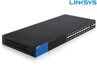 Linksys 26-Port-Switch | PoE + (384 W)