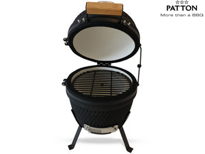 Patton Kamado Grill | Zwart | 13""