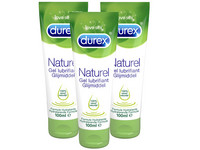 3x Durex Natural Gleitgel | 100 ml