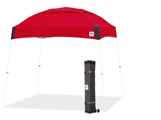 Korting E Z Up Dome Partytent Rood | 3x3 m