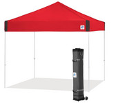 E-Z Up Pyramid Partytent Rood | 3x3 m