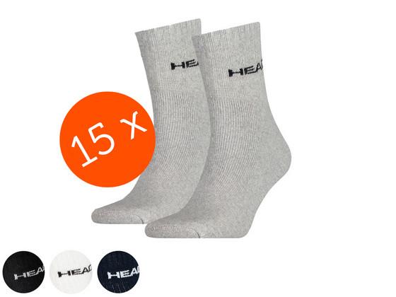 Korting Head Short Crew Sokken | 15 Paar