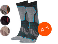 4x HEAD Crew Wandersocken