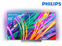 "Philips 65"" 4K LED TV met Ambilight"