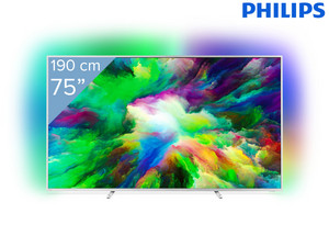"Philips 75"" 4K UHD Smart TV"