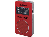 Pocket 340 DAB+ Zakradio | Rood