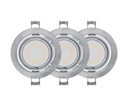 3x Downlight | 3 W | GU10