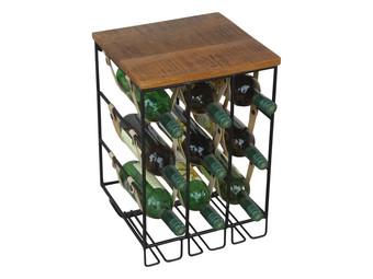 Tafeltje Met Wijnrek.Vince Design Wijnrek Bordeaux Internet S Best Online Offer
