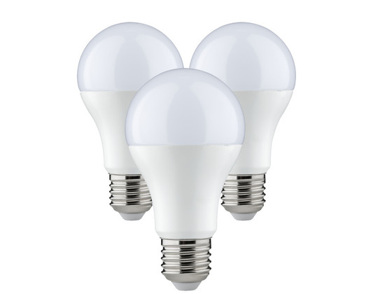 Korting 3x SmartLED | 9 W | E27 | Dimbaar