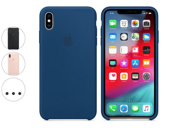 Korting Apple iPhone XS Max Siliconenhoesje