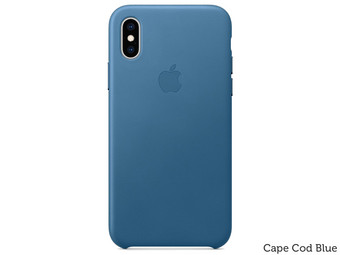 Apple iPhone XS Max Leren Hoesje