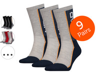 9x HEAD Performance Crew Socken