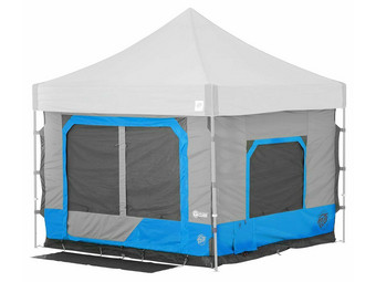 E-Z Up Tent Extension Blauw