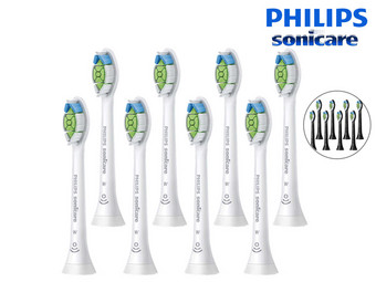 8 Philips Sonicare Opzetborstels