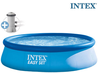 Intex Easy Pool mit Filterpumpe
