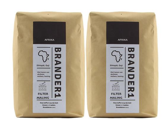 Korting Brander1 Ethiopia Gemalen Koffie | 2 kg