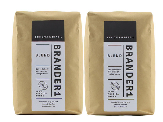 Korting Brander1 Blend Koffiebonen | 2 kg