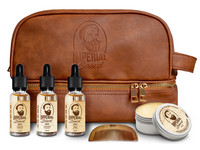 Imperial Beard Oils and Wax Kit