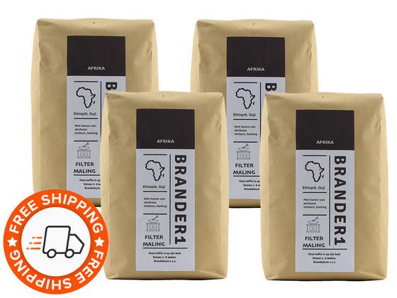 Korting Brander1 Ethiopia Gemalen Koffie | 4 kg