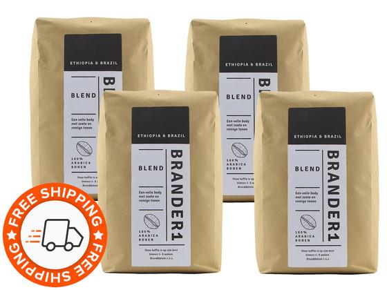Korting Brander1 Blend Koffiebonen | 4 kg