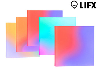 LIFX Satz smarter LED-Panel (5-teilig)