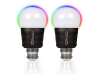 2x Bluetooth LED Lamp | B22