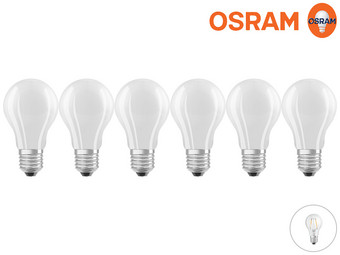 6x Osram dimmbare LED-Lampen