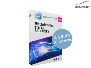 Bitdefender Total Security 2020 (2 Jaar)