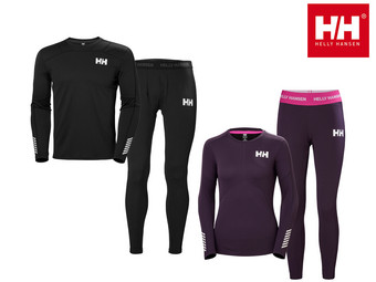 Helly Hansen Baselayer-Set (für Damen u. Herren)
