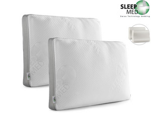 2x Sleepmed Kissen | Memory-Foam