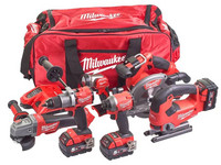 Milwaukee M18 Fuel Powerpack | 6-Delig