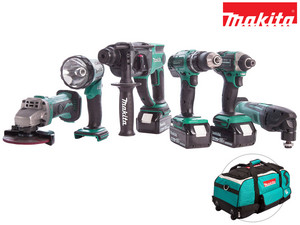 Makita 18 V Kombi-Set (DLX6075M)