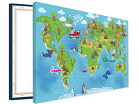 Voucher Kaart Kids Canvas | 120 x 80 cm