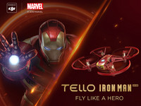 DJI Ryze Tech Tello Drohne | Iron Man Edition