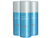 3x dezodorant Cool Water Wave Man | 150 ml