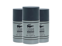 3x Lacoste Intense Deo Stick | 75 ml