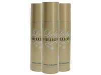 3x dezodorant Lady Million | 150 ml