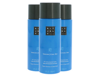 3x Rituals Samurai Deo Spray | 200 ml