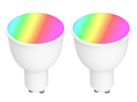 2x Woox RGB & WW Smart LED Lamp