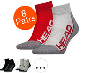 8x HEAD Performance Quartersocken