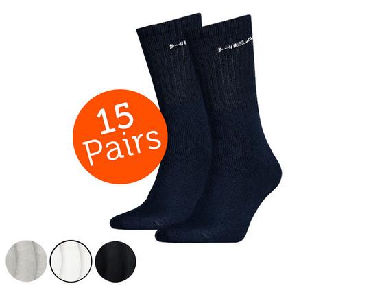 Korting Head Crew Sokken | 15 Paar