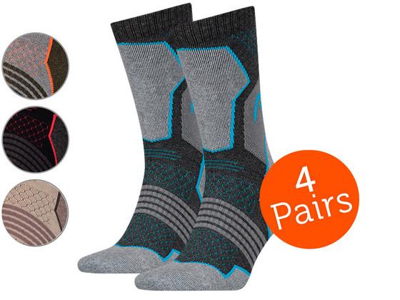Korting Head Hiking Crew Sokken | 4 Paar