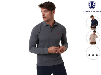 Jimmy Sanders Long Sleeve Polo
